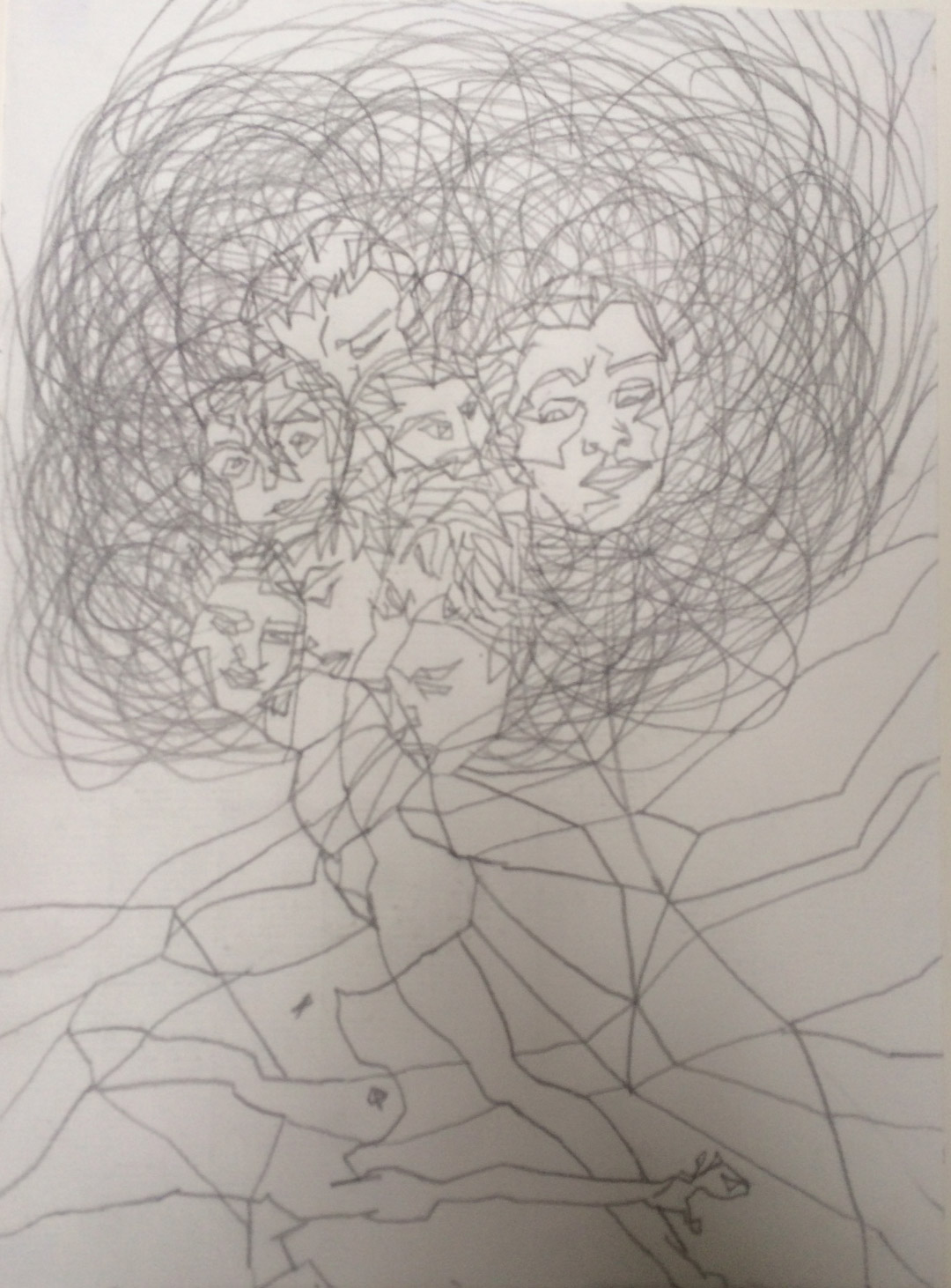 PENCIL ON PAPER | 20,8 x 28,5 CM