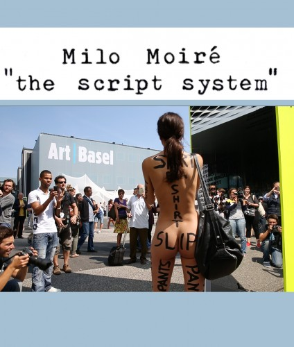 "Performance ""The Script System"" Art Basel 2014"