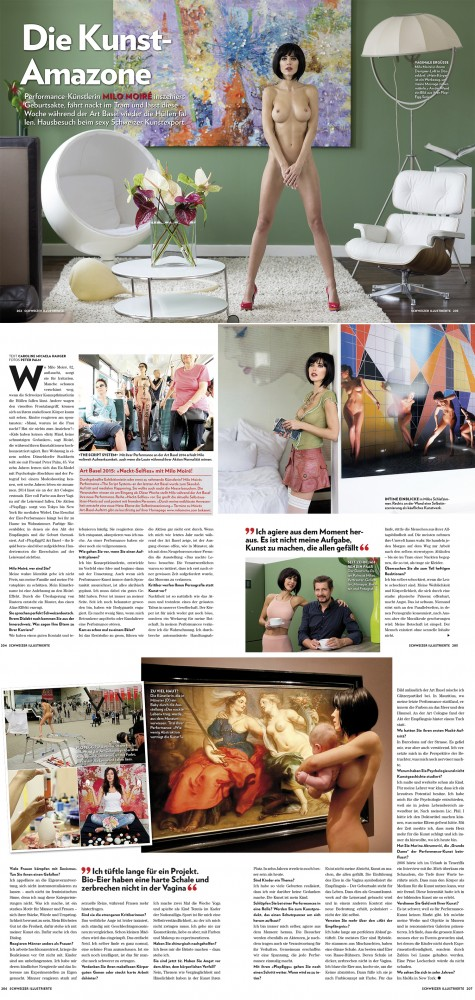WHOLE HOMESTORY THE ART AMAZON SCHWIEIZER ILLUSTRIERTE PT2 Z UZ The big interview TOTAL