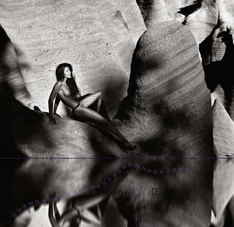 "Calendar ""THE TWELVE MUSES"" 5 THE ADVENTURER ©Peter Palm"