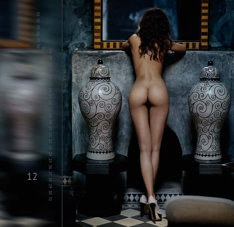 "Calendar ""THE TWELVE MUSES"" 12 THE SEDUCTRESS ©Peter Palm"