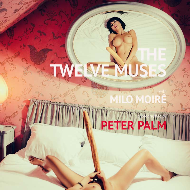 """Calendar """"THE TWELVE MUSES"""" COVER ©Peter Palm"""