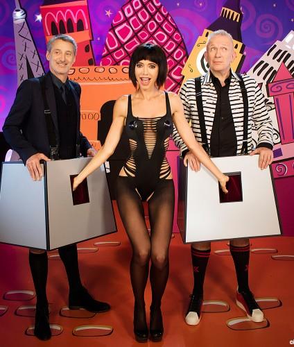 """Milo Moiré & Jean Paul Gaultier on """"Eurotrash"""" Show Channel 4 UK"""