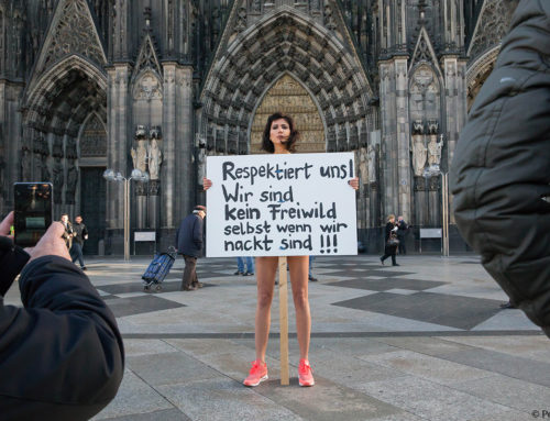 Protest Over Cologne Sex Attacks