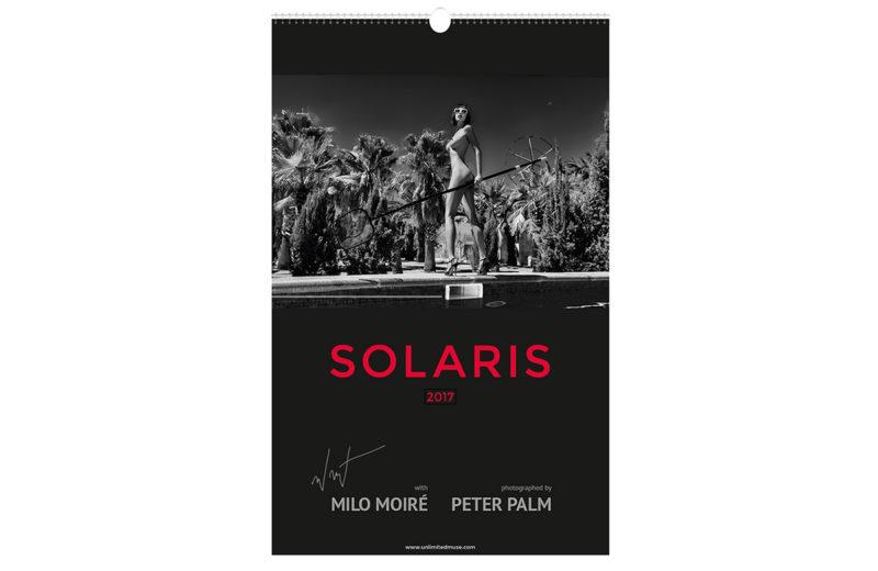 Aktkalender Solaris 2017 Milo Moire