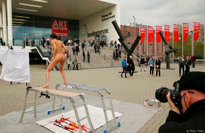 Die Geburt eines Bildes - Plopegg Art Cologne