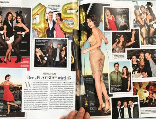 Milo in BUNTE magazine