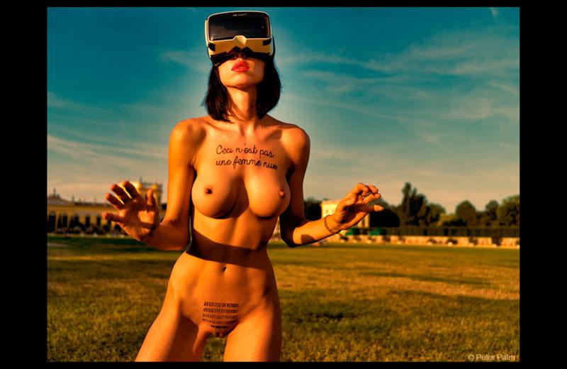 Ceci n'est pas une femme nue by Milo Moiré at Documenta 14